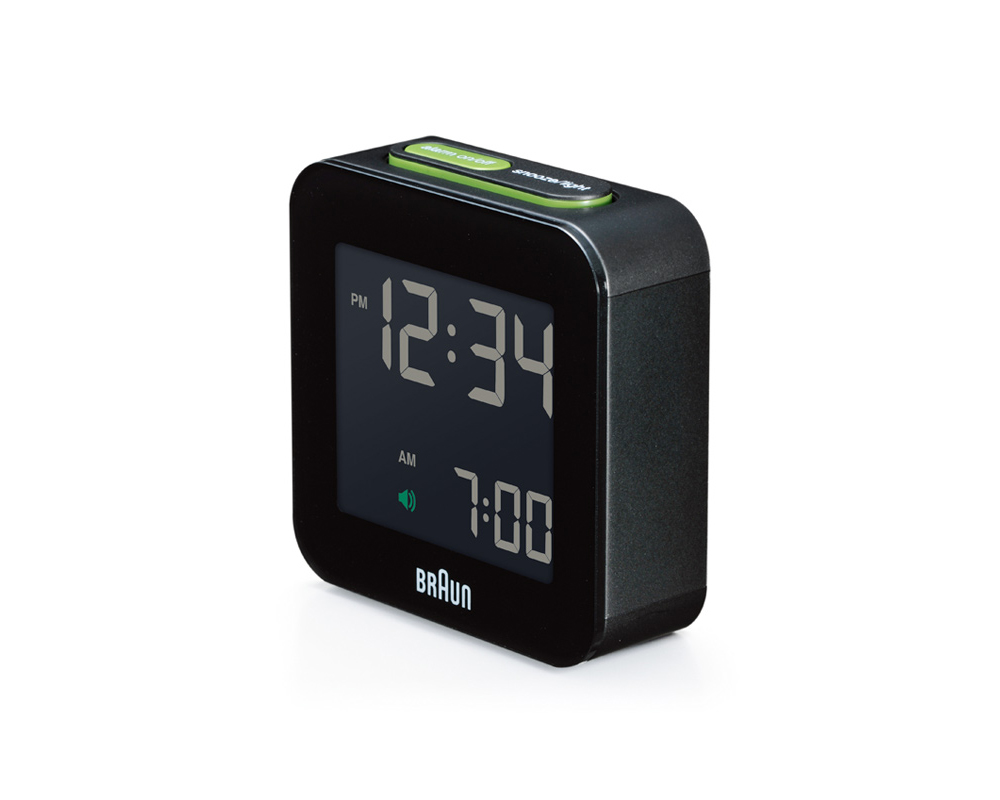 BRAUN | Desital Alarm Clock BNC008 デジタルアラームクロック