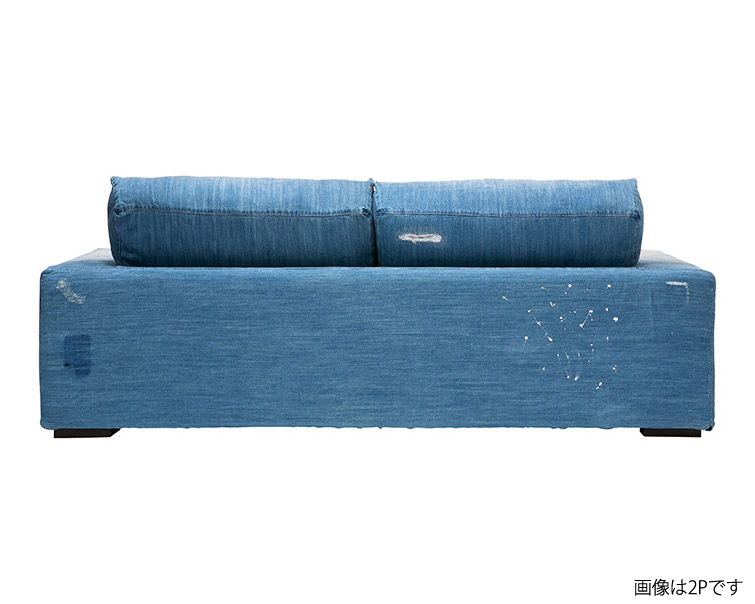 journal standard Furniture | FRANKLIN SOFA 3P Damage DENIM  フランクリンソファ3P ダメージデニム