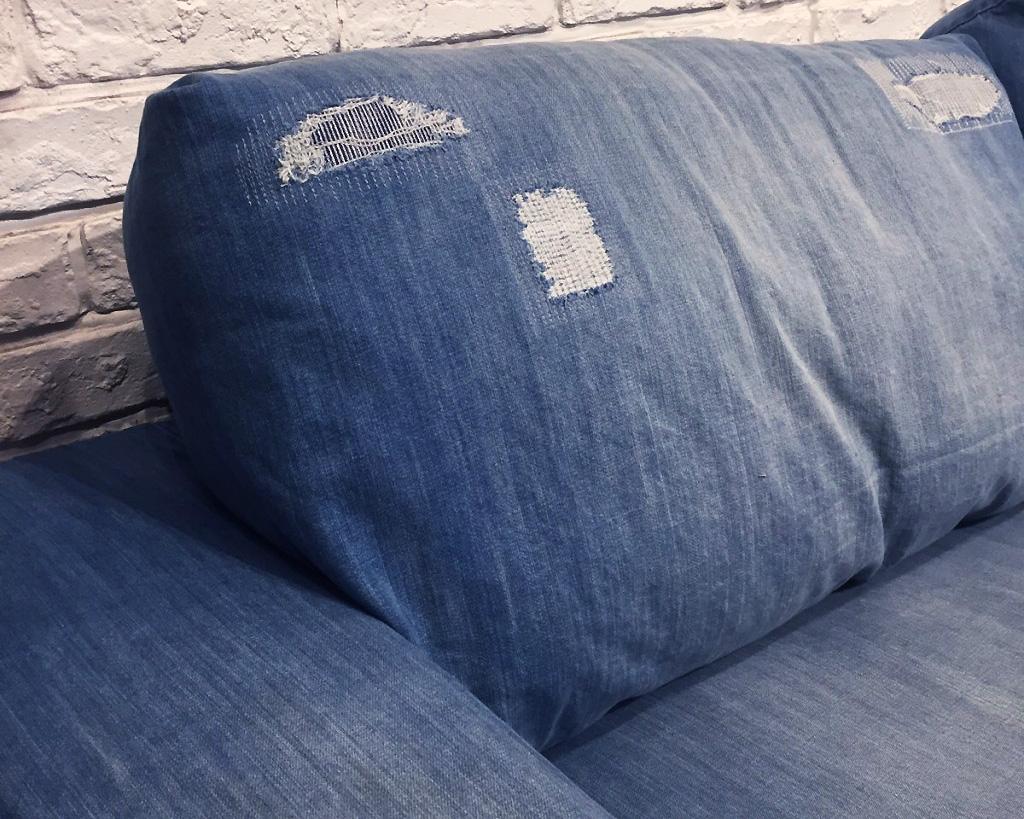 journal standard Furniture   FRANKLIN SOFA 3P Damage DENIM  フランクリンソファ3P ダメージデニム