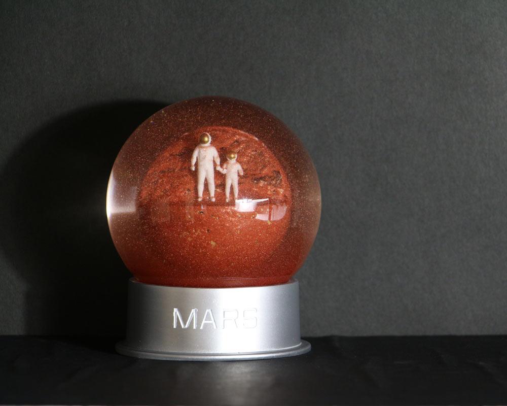 Humango | Mars Dust Globe マーズダストグローブ