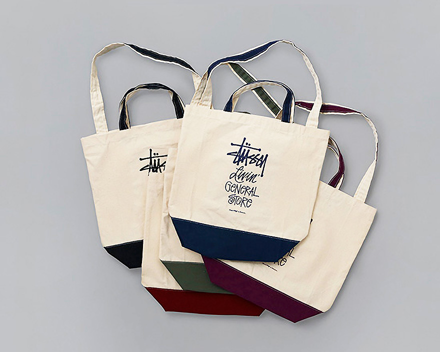 "STUSSY Livin' General Store | GS 2Way Tote Bag ""Basic Stock""  GSツーウェイ トートバッグ"