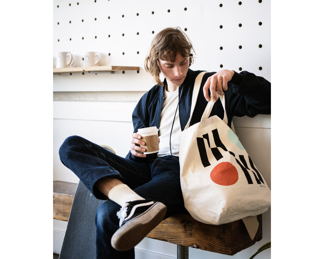 STUSSY Livin' General Store | GS Canvas Art Tote Vol.1  GSキャンバスアートトート