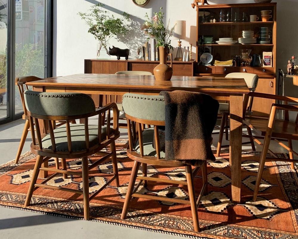 ACME Furniture | OAKS ARM CHAIR_KHAKI オークスアームチェア カーキ
