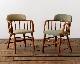 ACME Furniture | OAKS ARM CHAIR_PVC BEIGE オークスアームチェア PVCベージュ