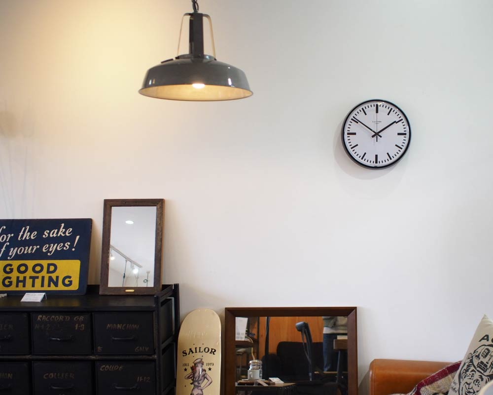 Pacific Furniture Service | E.A. COMBS WALL CLOCK Bar E.A.コームス ウォールクロック 棒指標