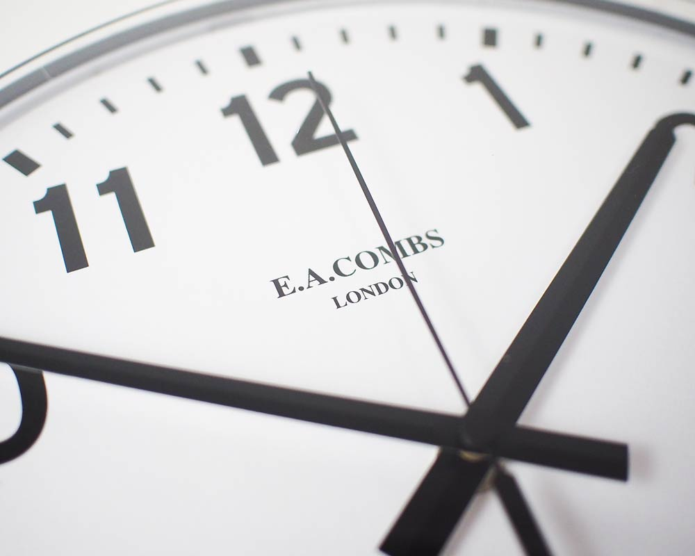 Pacific Furniture Service | E.A. COMBS WALL CLOCK Arabic E.A.コームス ウォールクロック 数字指標