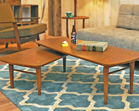 ACME Furniture | TRESTLES COFFEE TABLE トラッセルコーヒーテーブル
