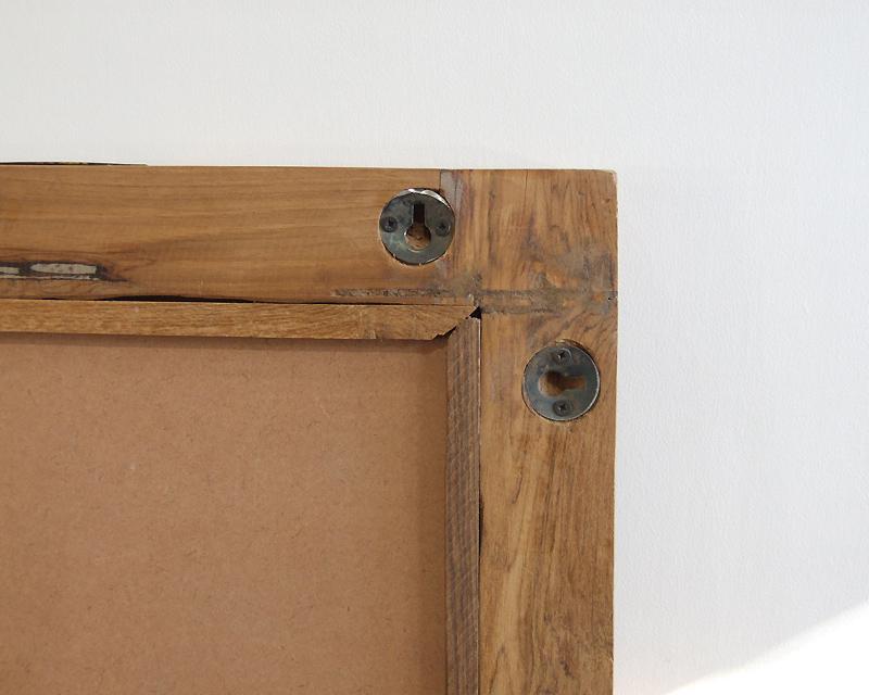PUEBCO | Teak Wood Figure Mirror チークウッド フィギュアミラー