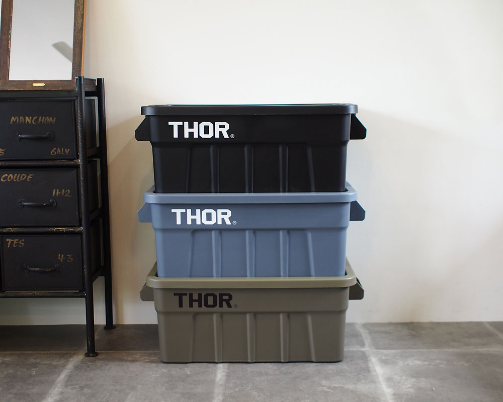 Trust   THOR Large Totes With Lid 53L [3color] ソーラージトートウィズリッド