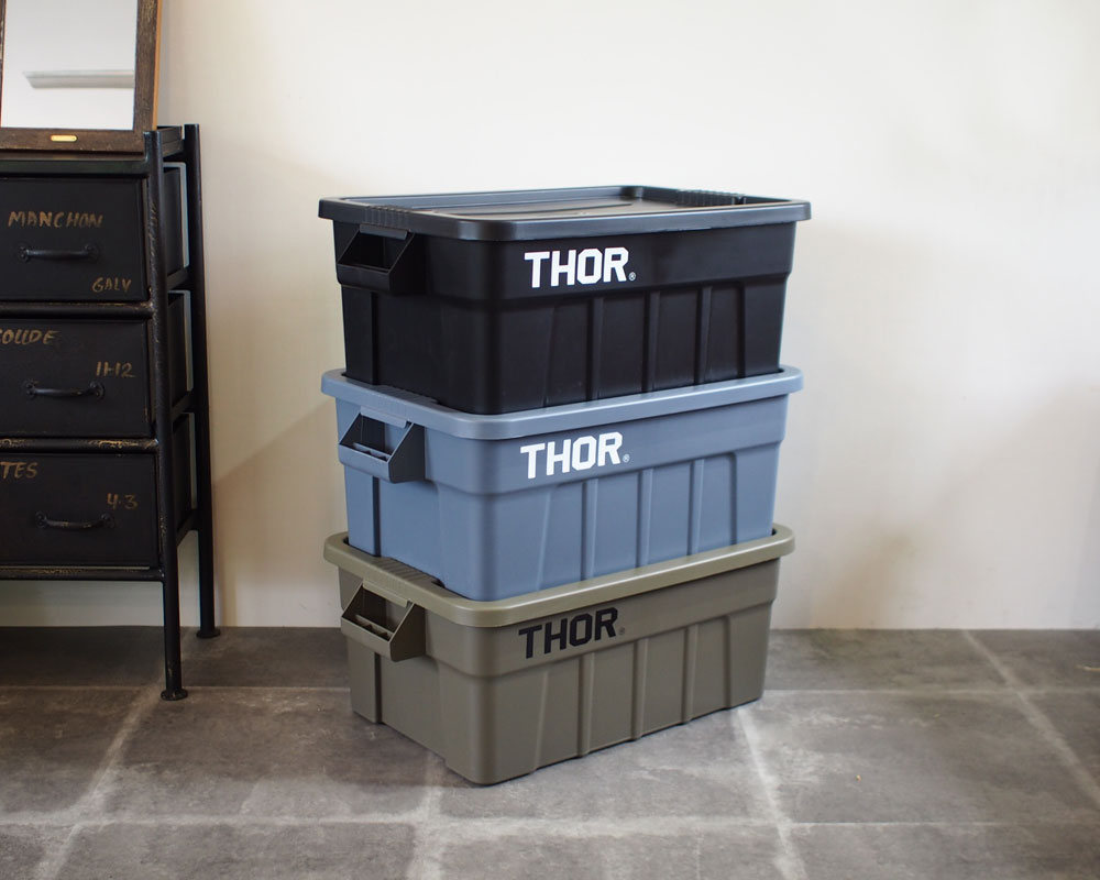 Trust | THOR Large Totes With Lid 53L [3color] ソーラージトートウィズリッド