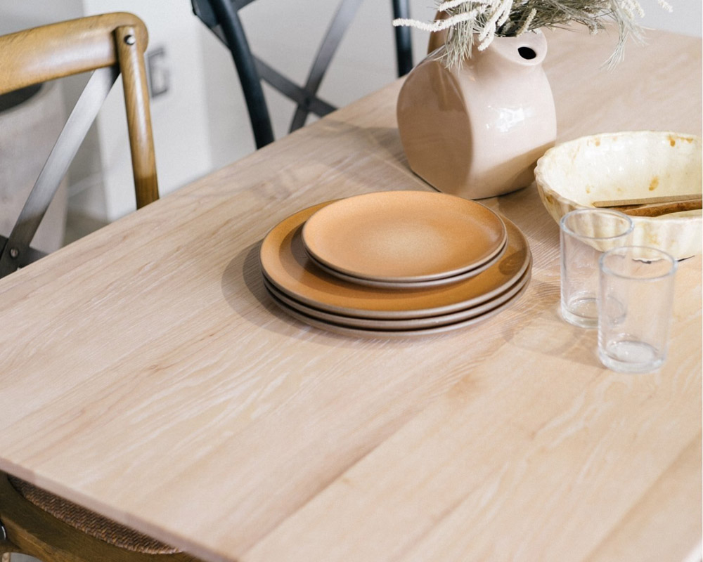 journal standard Furniture | COLTON DINING TABLE NT [2size] コルトンダイニングテーブル ナチュラル