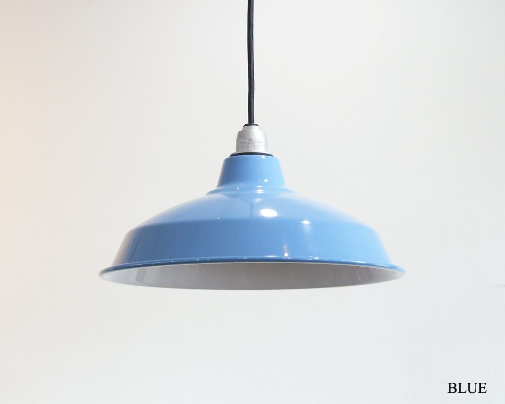 "Pacific Furniture Service | 14"" Enamel Lamp Shade [8color] ホーローランプ"
