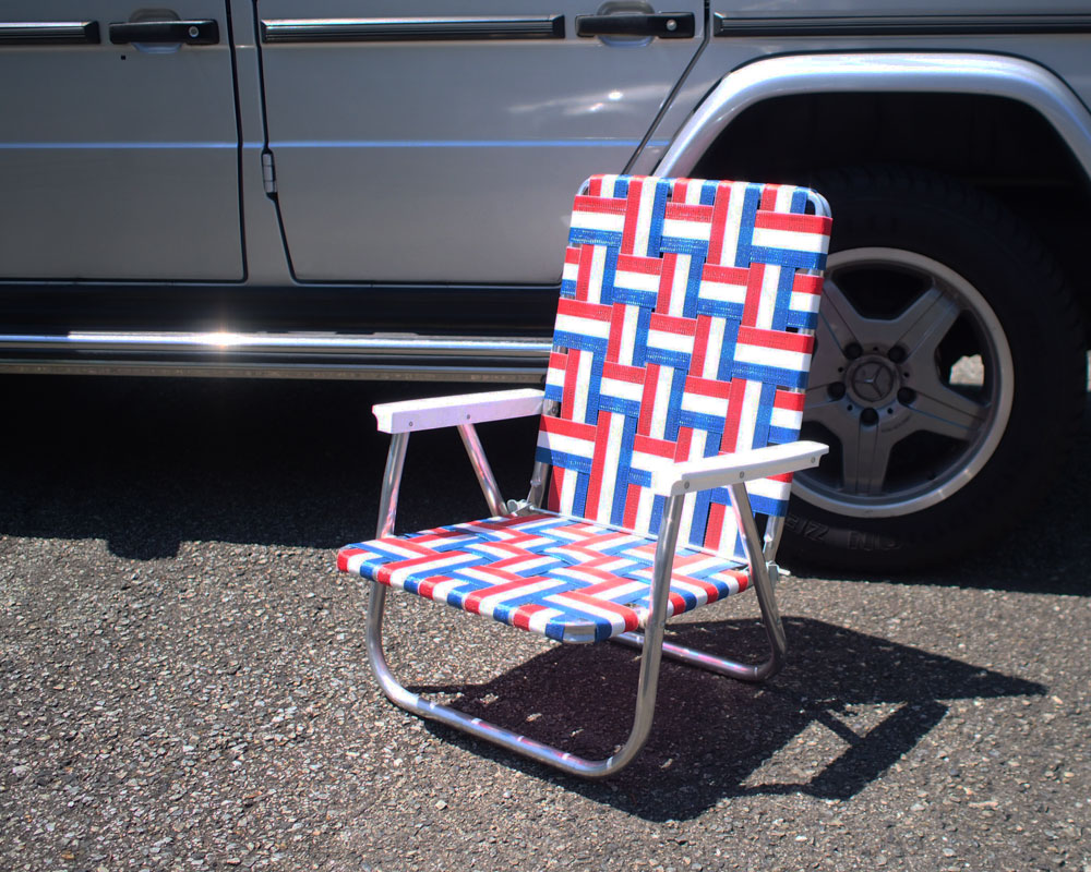 LAWN CHAIR USA | High Back Beach Chair ハイバック ビーチチェア