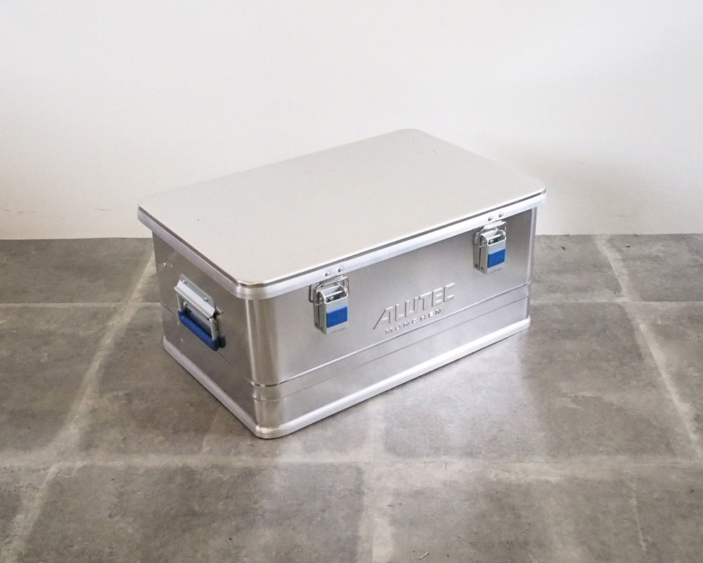 ALUTEC | ALUMI CONTAINER with LID アルミコンテナ 蓋付き
