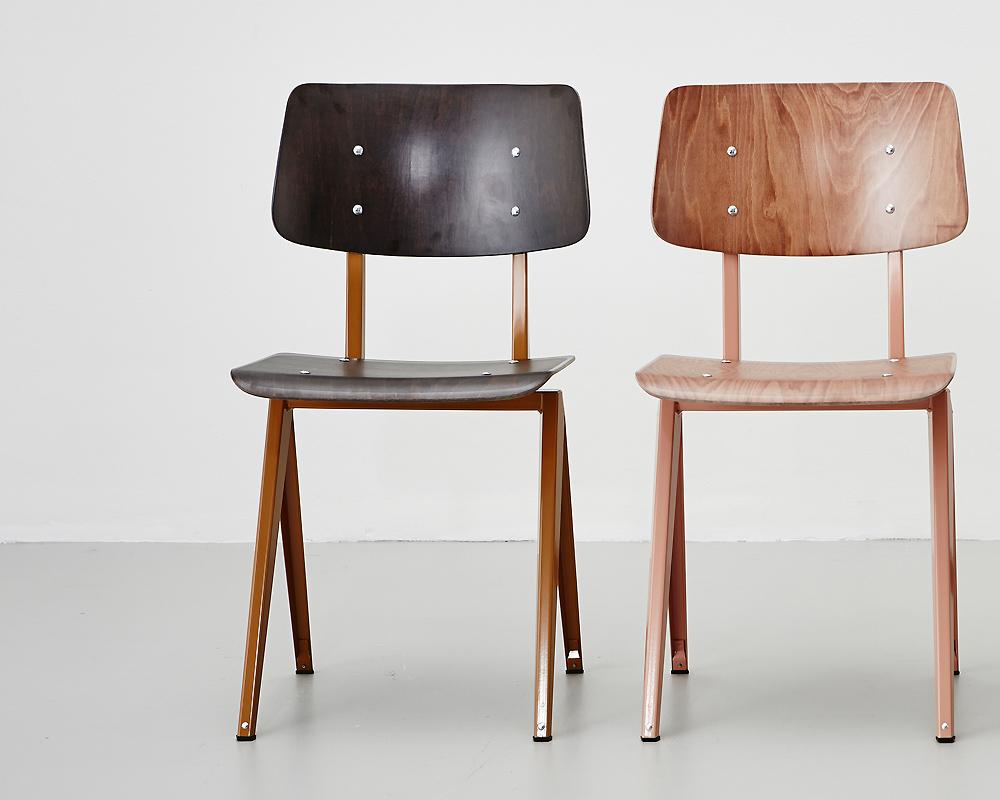 GALVANITAS   S.16 Chair Ebony ガルファニタスS16チェア エボニー/オーカーブラウン