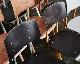 GALVANITAS | S.16 Chair Ebony ガルファニタスS16チェア エボニー/オーカーブラウン