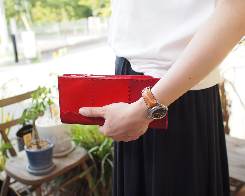 yes crafts   Square Round wallet [3color] スクエアラウンドウォレット/ 財布