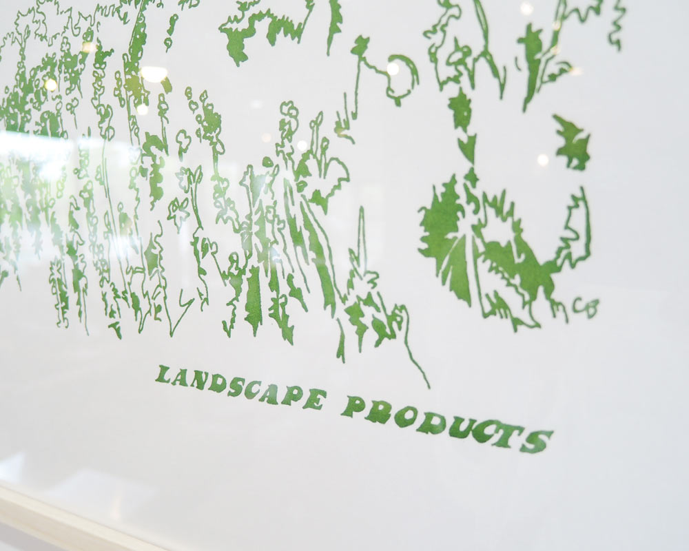Landscape Products | Original Poster by Charlotte Beavers ポスター シャーロット・ビーバーズ