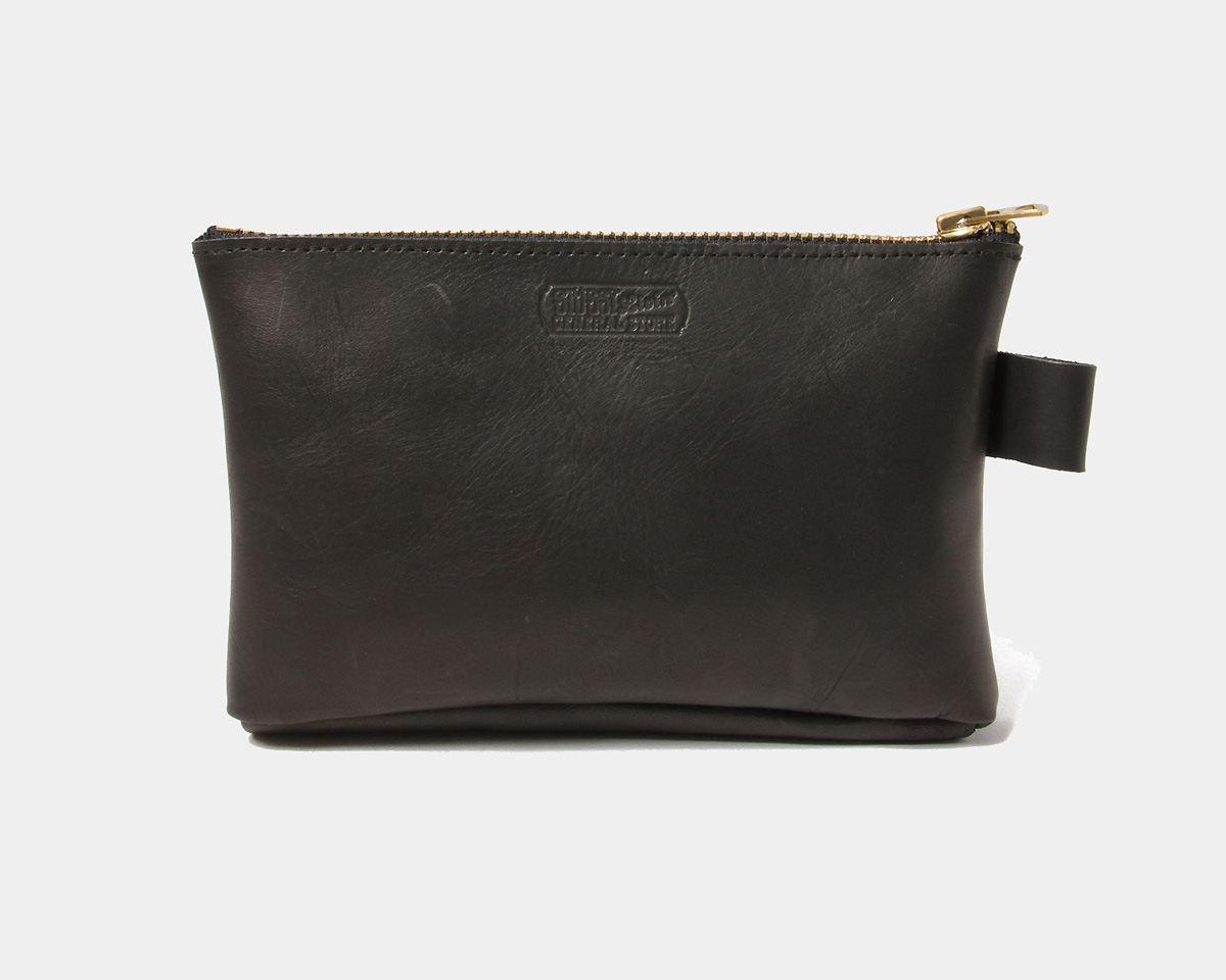 STUSSY Livin' General Store | GS Heavy Leather Pouch GSヘヴィ レザーポーチ