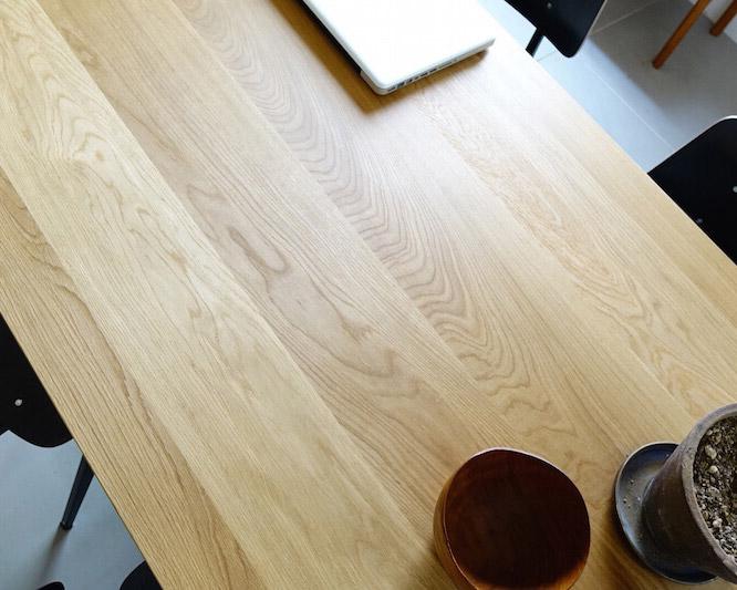 GALVANITAS | TD.4 Table Oak/White [2size] ガルファニタスTD.4テーブル オーク/ホワイト