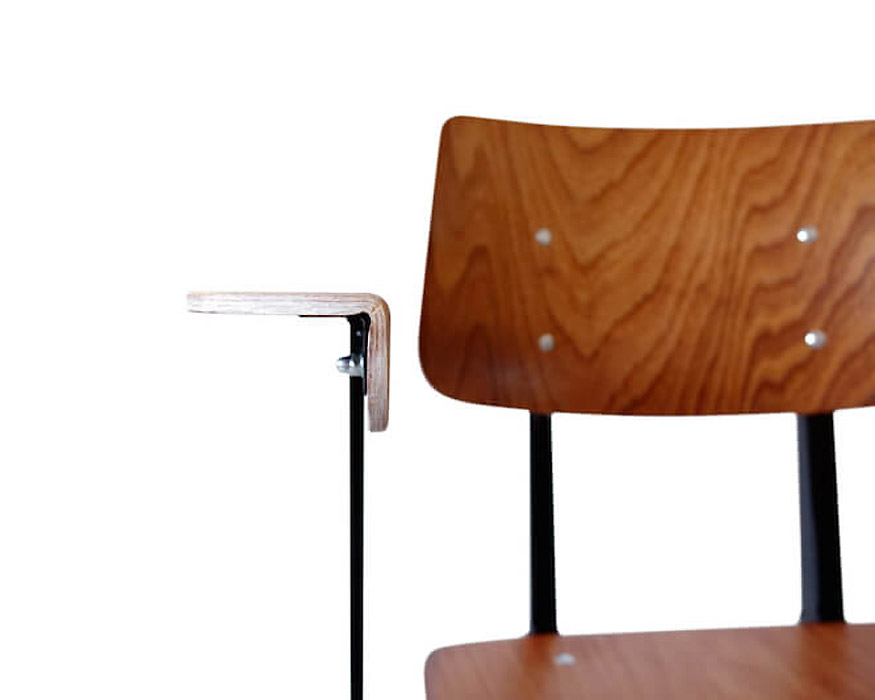 GALVANITAS | S.16 Arm Chair Black ガルファニタスS16アームチェア ブラウン/ブラック