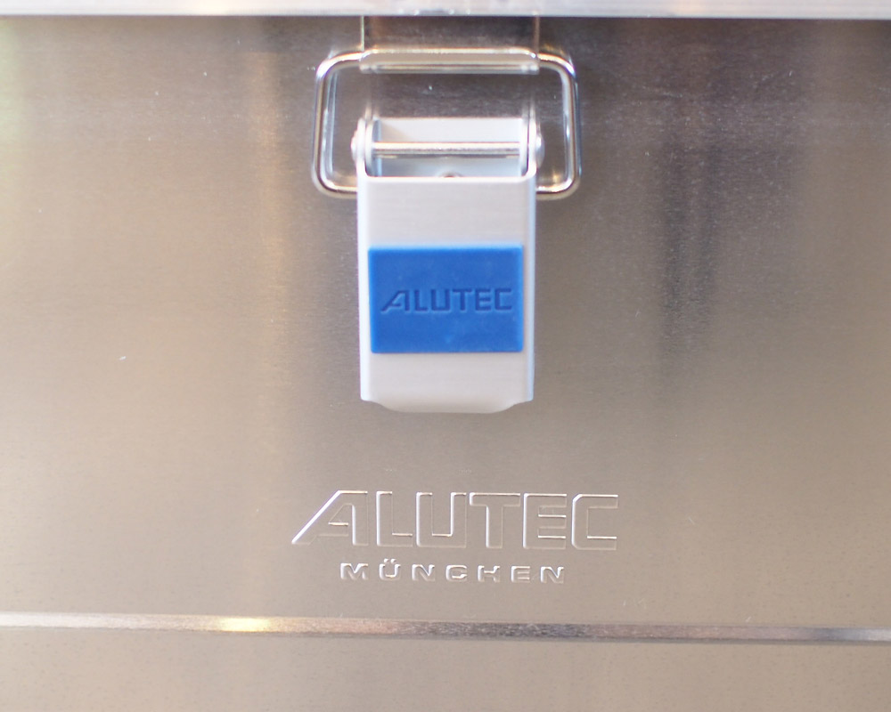 ALUTEC   ALUMI CONTAINER with LID XS アルミコンテナ 蓋付き