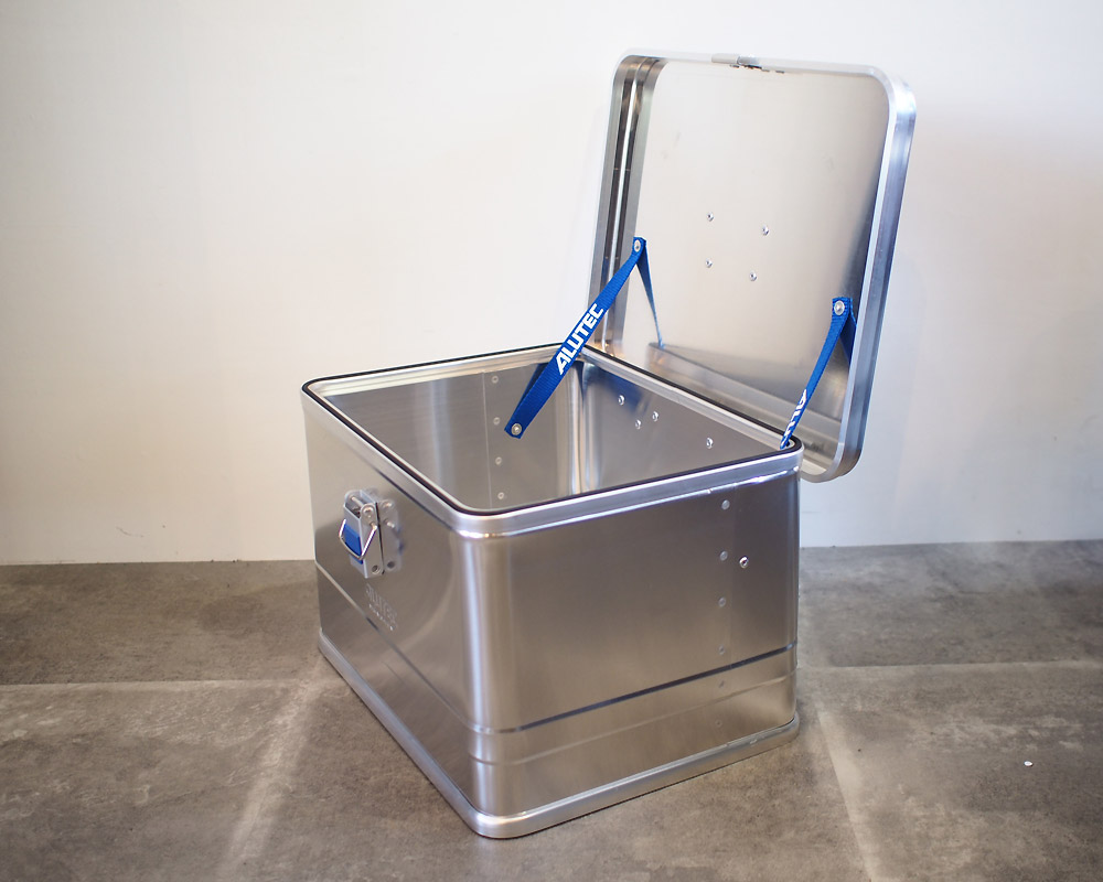 ALUTEC | ALUMI CONTAINER with LID XS アルミコンテナ 蓋付き