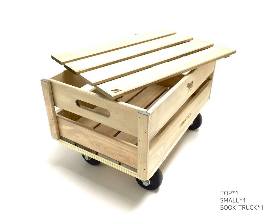 COW BOOKS | Wood Box Top ウッドボックス トップ/蓋
