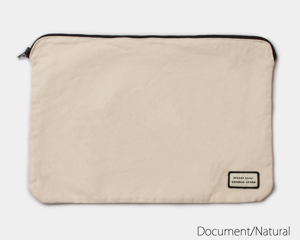 STUSSY Livin' General Store | New Canvas Pouch Collection キャンバスポーチ