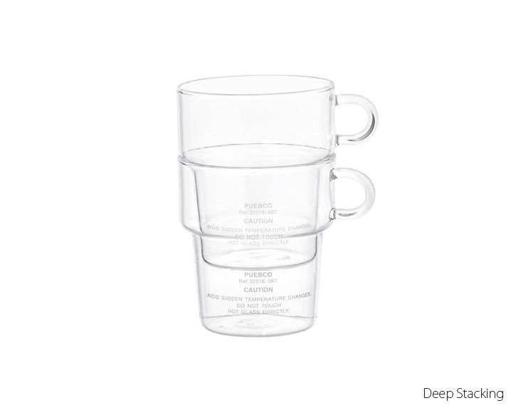 PUEBCO   BOROSILICATE GLASS MUG  ボロシリケイト グラスマグ/耐熱ガラス