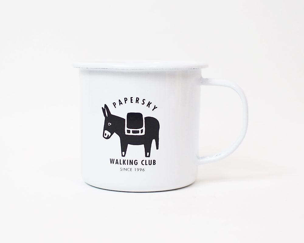 PAPERSKY STORE | Enamel Donkey Mug ホーローマグ