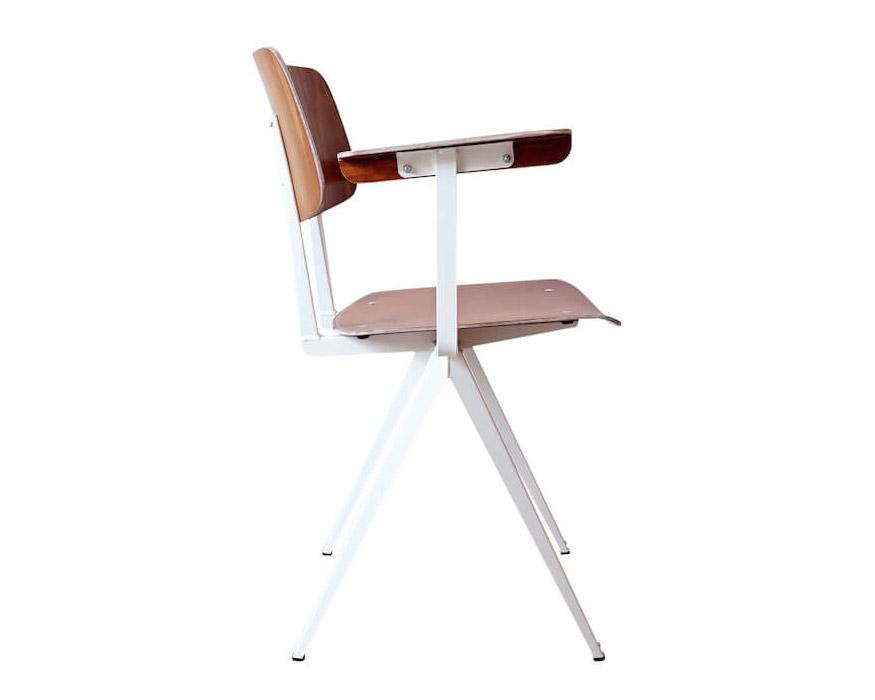 GALVANITAS | S.16 Arm Chair White ガルファニタスS16アームチェア ブラウン/ホワイト