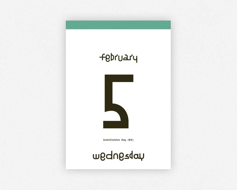 verlag hermann schmidit | TYPODARIUM 2020 タイポダリウム/カレンダー