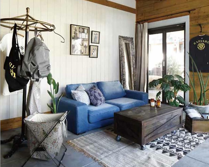 journal standard Furniture | FRANKLIN SOFA DENIM フランクリンソファ デニム