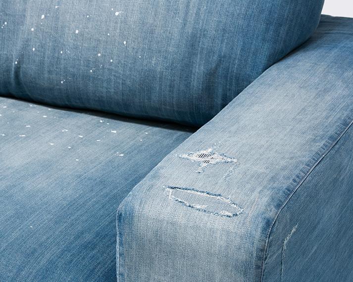 journal standard Furniture | FRANKLIN SOFA Damage DENIM フランクリンソファ ダメージデニム