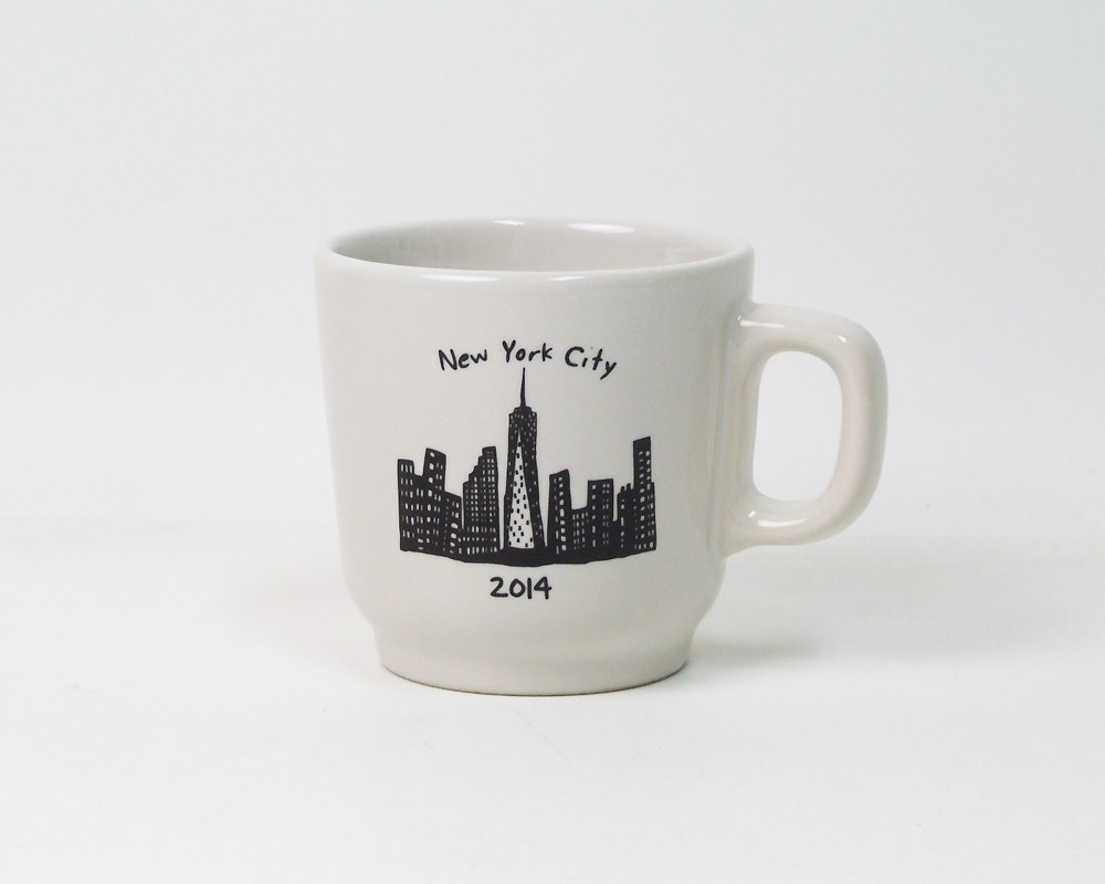 FISHS EDDY | 212 NEW YORK SKYLINE World Trade Center Mug 212ニューヨークスカイラインマグ