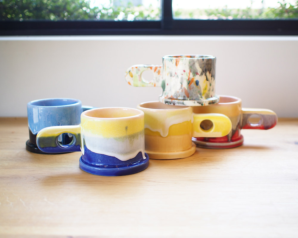 ECHO PARK POTTERY | Mug Cup (K1) エコパークポタリー マグ