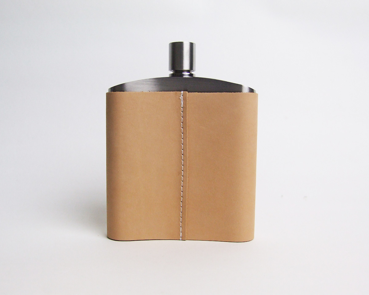 STUSSY Livin' General Store | GS Leather Bound Flask  GSレザーバウンドフラスク