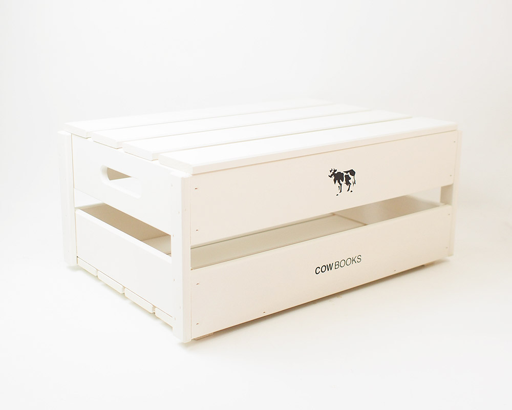 COW BOOKS | Wood Box Ivory Top ウッドボックス アイボリー トップ/蓋