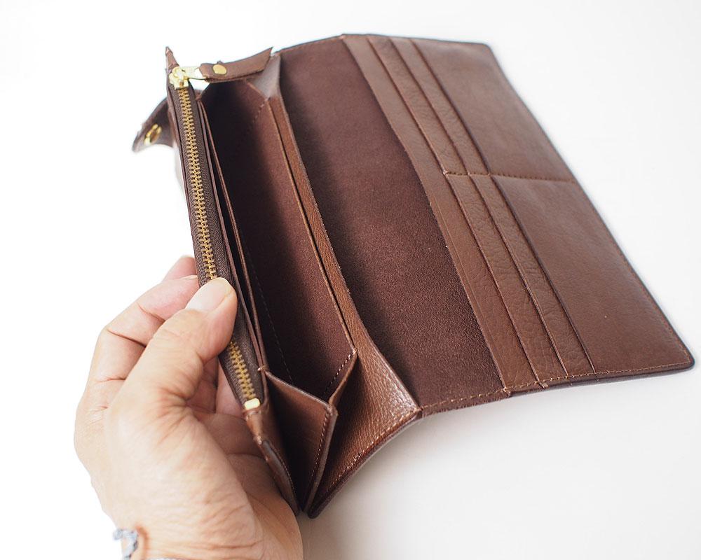 Damasquina   CV H Wallet Large [3color] Hウォレットラージ/ 財布