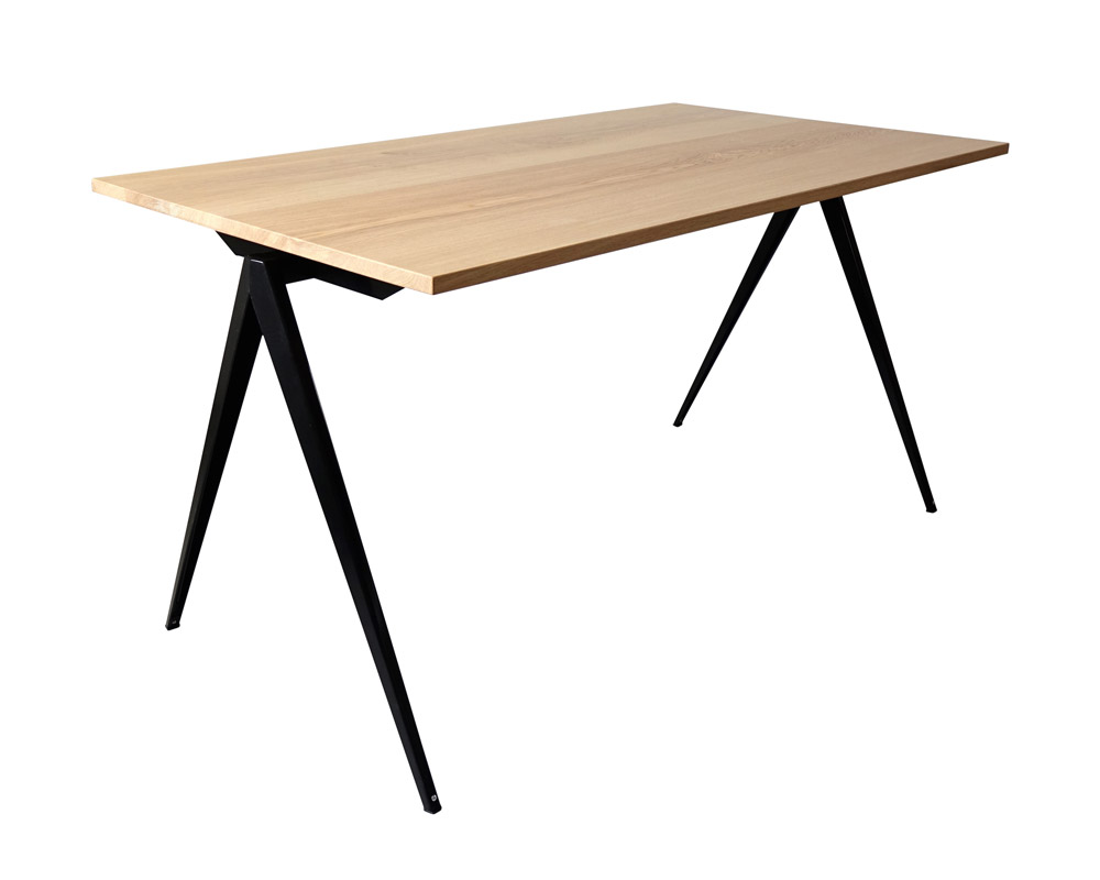 GALVANITAS | TD.4 Table Oak/Black [2size] ガルファニタスTD.4テーブル オーク/ブラック