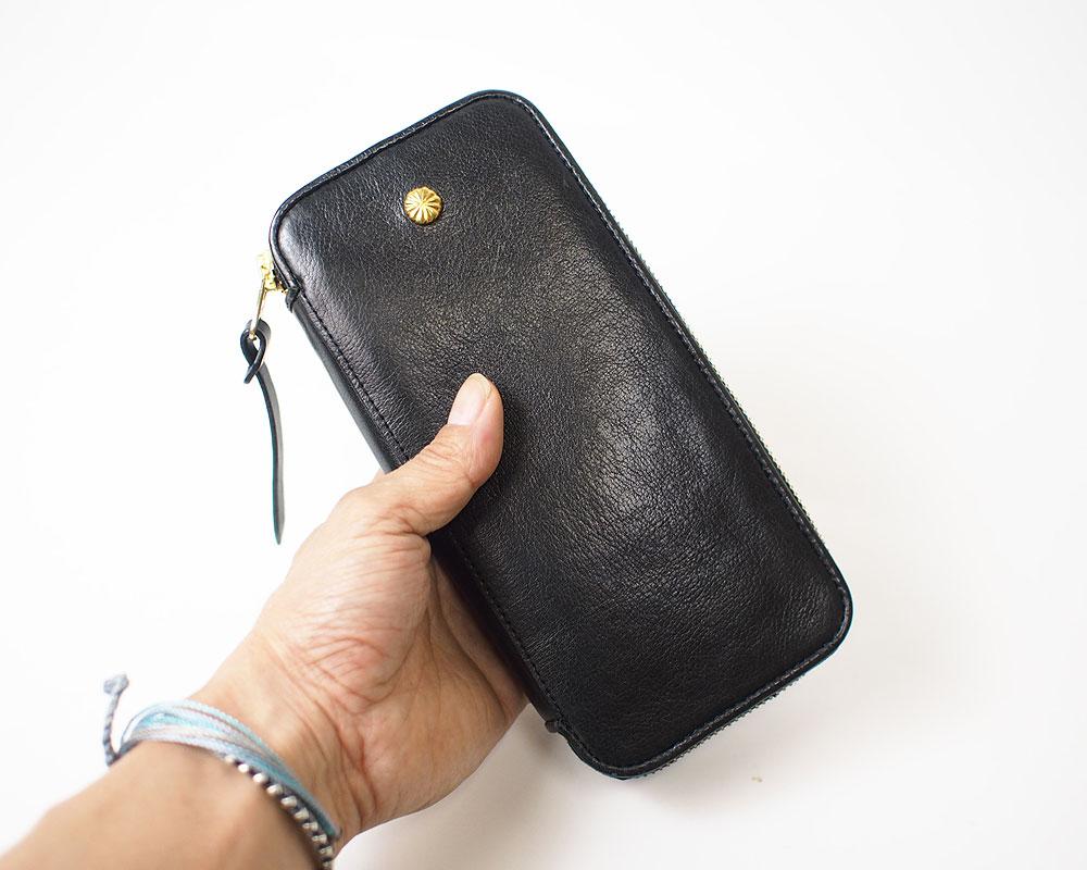 Damasquina | Classic Zip Wallet Large [2color] クラシックジップウォレットラージ/ 財布