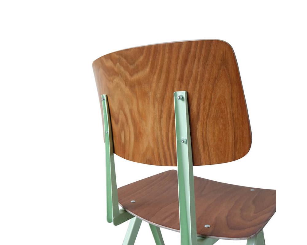 GALVANITAS | S.16 Chair Brown ガルファニタスS16チェア 2020スポットカラー ブラウン/パステルグリーン