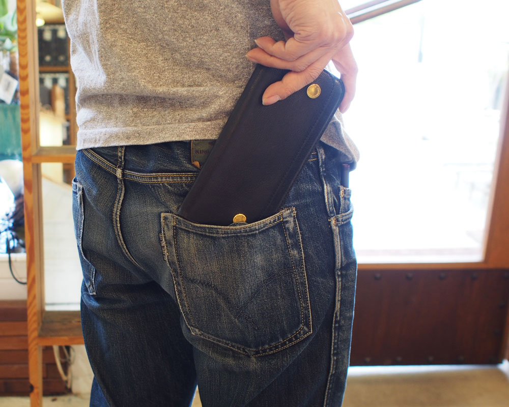 Damasquina | Moter Wallet Large [2color] モーターウォレットラージ/ 財布
