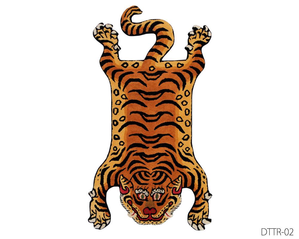 DETAIL | Tibetan Tiger Rug [2type 4size] チベタンタイガーラグ