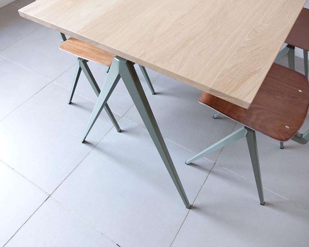 GALVANITAS | TD.4 Table Oak/C.Gray [2size] ガルファニタスTD.4テーブル オーク/セメントグレイ