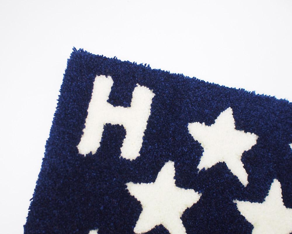 SECOND LAB.*SEILIN | H Star Rug Mat Hスターラグマット