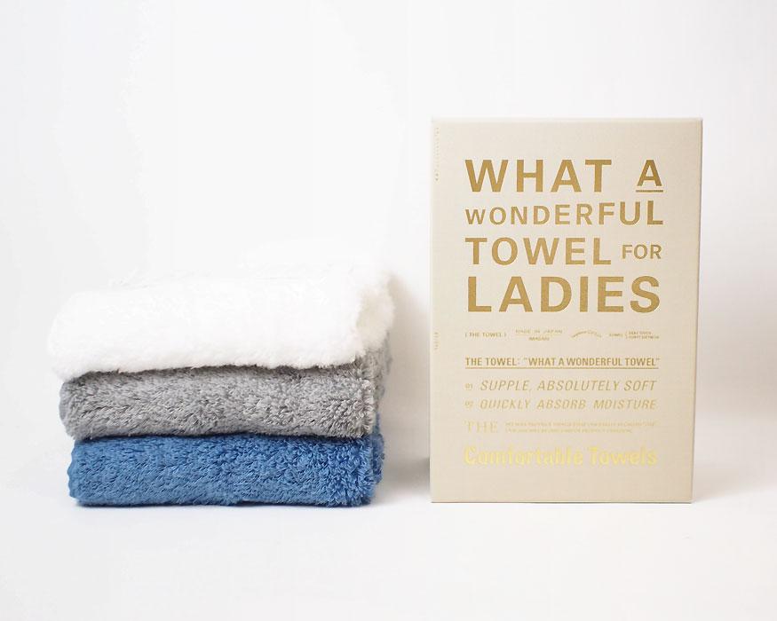 THE | FACE TOWEL for LADIES ザ・フェイスタオル 女性用