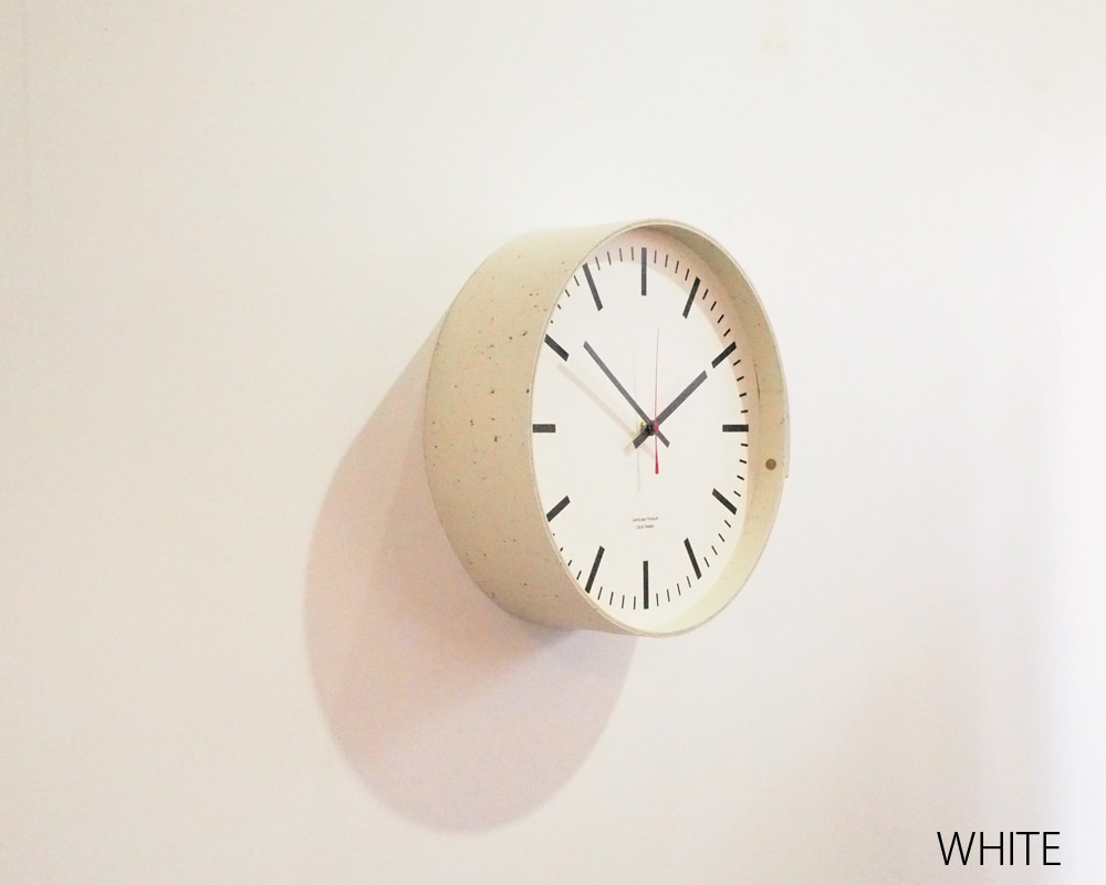 Landscape Products | Marmoleum Series Wall Clock [2color] マーモリウム ウォールクロック
