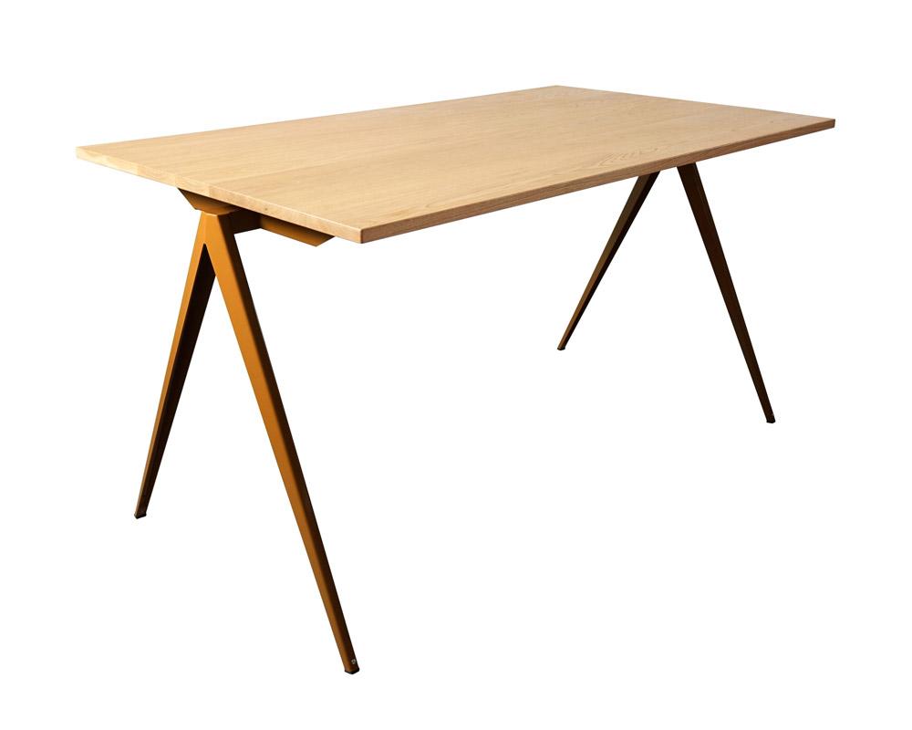 GALVANITAS | TD.4 Table Oak/O.Brown [2size] ガルファニタスTD.4テーブル オーク/オーカーブラウン